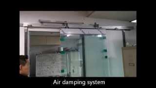 video thumbnail Air damper (Semi-auto sliding door closer) youtube