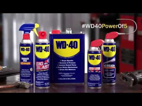 Harness the Power #WD40PowerOf5