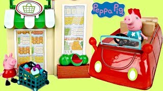Video Nick Jr PEPPA PIG Little Red Car Grocery Shop, Friend Birthday Party, Toy Surprises Playset / TUYC MP3, 3GP, MP4, WEBM, AVI, FLV Agustus 2017