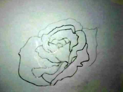 Wie kann man eine Rose zeichnen??