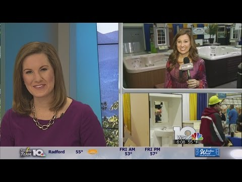 Water by Design previews hot tubs for Roanoke Home and Garden Show