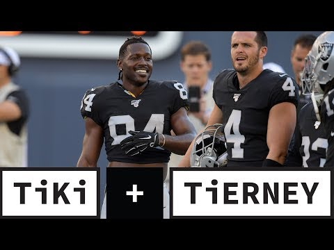 Video: The Raiders Are Gutless For Allowing Antonio Brown To Play | Tiki + Tierney