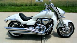 8. 2007 Suzuki Boulevard M109R Pearl White Overview Review Walk Around