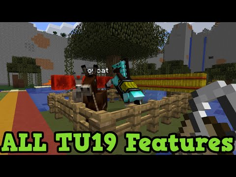Minecraft Xbox 360 + PS3: ALL Features in TU19 (New Blocks, Mobs, Items)