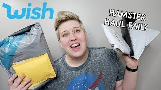 HAMSTER HAUL | UNBOXING HAMSTER TOYS FROM WISH by Pickles12807
