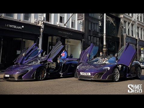Mclaren P1 Purple  photos