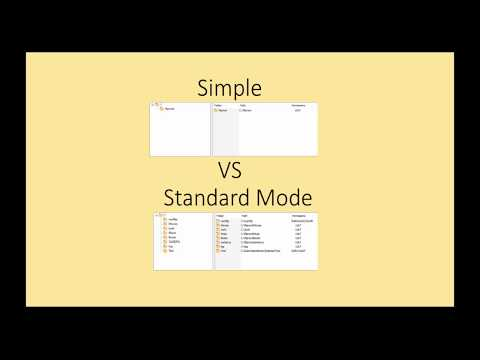 Simple VS Standard Mode in Cerberus