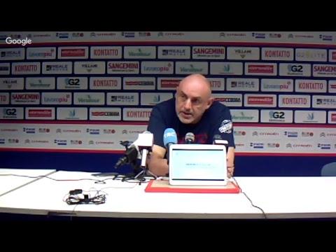 A2 Playoff – Semifinale Gara3, Boniciolli pre match Trieste
