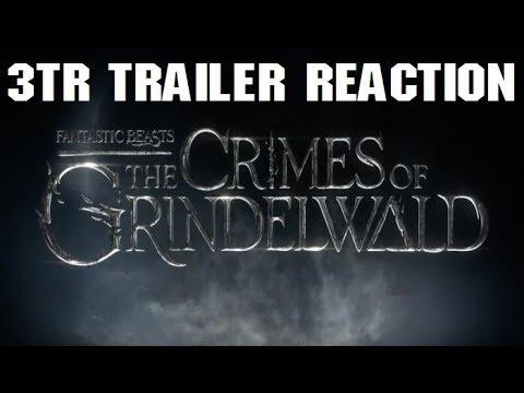 FANTASTIC BEASTS 2: The Crimes of Grindelwald Trailer REACTION | 3TR