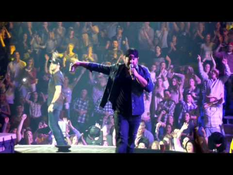 Luke Bryan/Cole Swindell/Lee Brice – If You Ain't Here To Party/Can't Hold Us