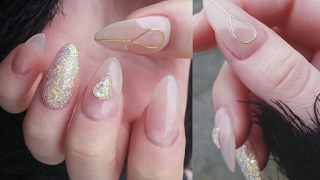 WIREWORK LOOK | Nailart mit Draht | DANANA - YouTube