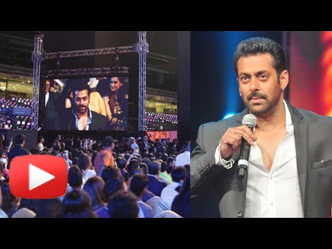 Salman Khan Angered Fans At AIBA Awards! Watch How