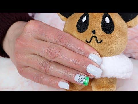 Decorados de uñas - Uñas de gel decoradas con Pokemon