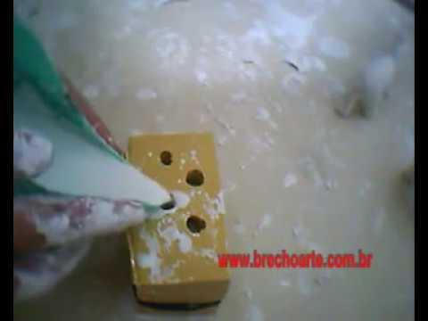 Artesanato_Elefante em gesso, molde de silicone