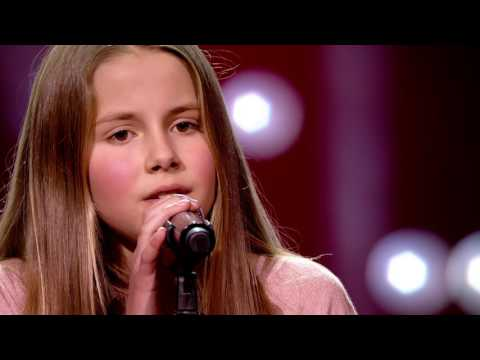 Emma- 'Believe' | Blind Auditions | The Voice Kids | VTM (видео)