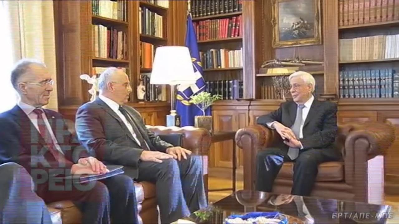 Την ελπίδα η ΕΚΤ να στηρίξει το τραπεζικό σύστημα της Ελλάδας, εξέφρασε ο ΠτΔ