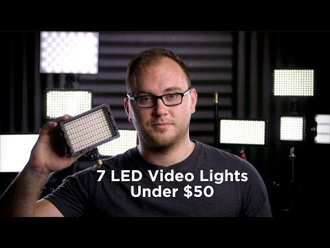 7 Great Video LED Lights Under $50