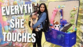 Video BUYING EVERYTHING MY PUPPY TOUCHES!! MP3, 3GP, MP4, WEBM, AVI, FLV Juli 2019