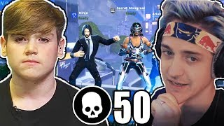 Download Video Mongraal & Ninja squad For The First Time Ever! (50 Kills Squad) MP3 3GP MP4