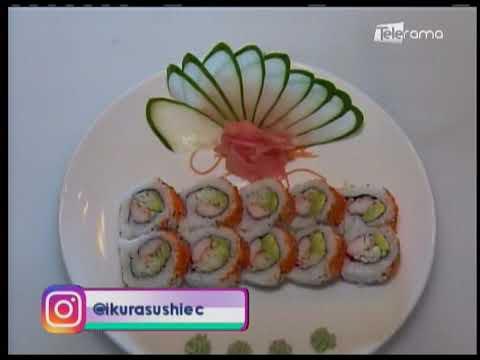 Aprenda a realizar sushi en casa