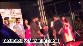 Bahubali 2 Movie Celebrations begin in Dubai