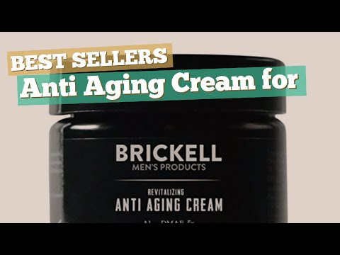 Anti Aging Cream For Men // Best Sellers