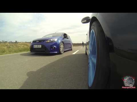 ford focus rs vs. vw golf v r32