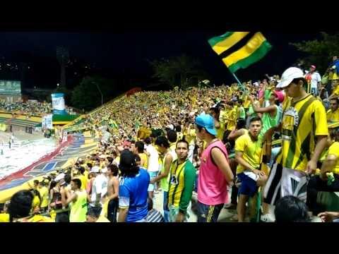 Atlético Bucaramanga hinchada de primera (23-nov) - Fortaleza Leoparda Sur - Atlético Bucaramanga