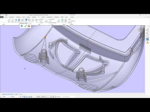 Autodesk PowerShape 2018 - пример моделирования для производства