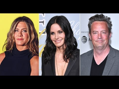 Jennifer Aniston Teases Courteney Cox and Matthew Perry About Their 'Friends' Reunion