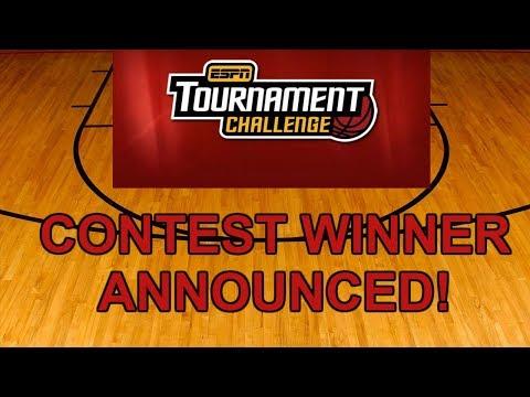 ESPN Tournament Challenge Group Contest Winner