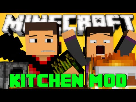Minecraft: KITCHEN MOD (Sandwiches, New Blocks, New Foods and More!) Mod Showcase