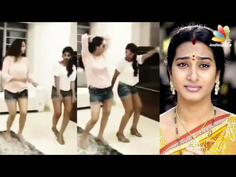 Actress-Surekha-Vani-and-her-daughter-hot-dance-goes-viral-Tamil-Cinema-News