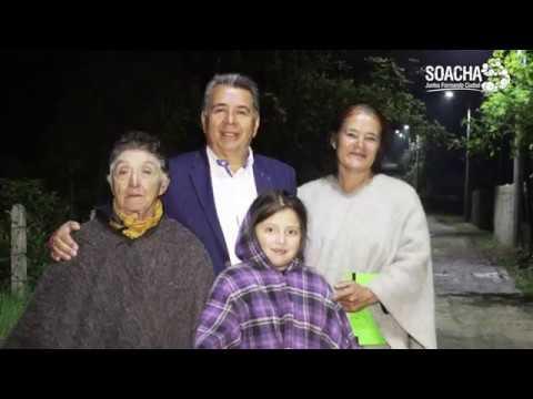 Iluminación LED en la Vereda Cascajal Soacha