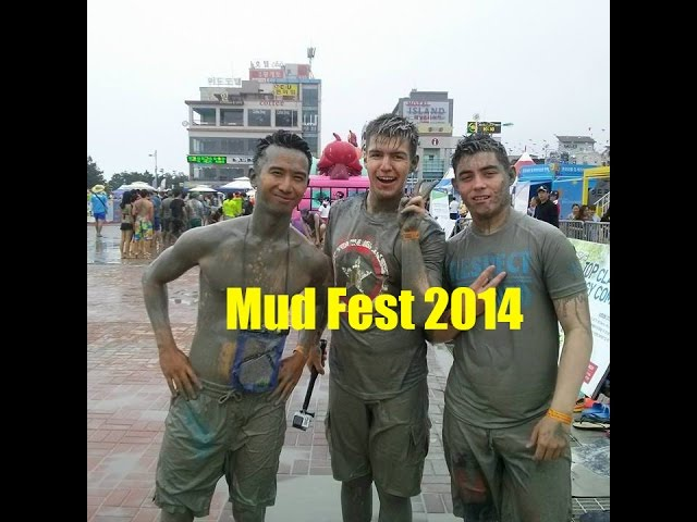 South Korea Mud Fest 2014