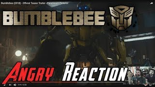 Video Bumblebee Trailer - Angry Reaction! MP3, 3GP, MP4, WEBM, AVI, FLV Juni 2018