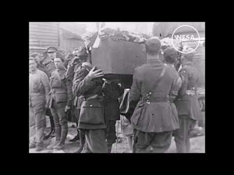 The Funeral of Manfred von Richthofen (speed corrected)