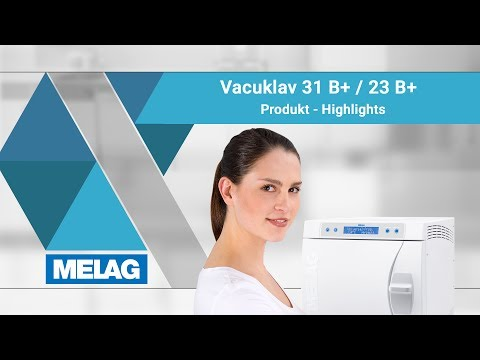 Dampf-Sterilisator / Autoklav: Vacuklav 31 B+ und 23 B+
