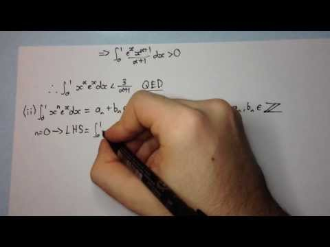 how to prove e is irrational