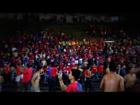 """Turba Roja Tecla 2 - CD FAS 3 """"Eskizofrenia Puros y mas Cervezas"""" - Turba Roja - Deportivo FAS"""