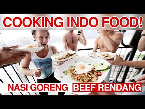 Canadians Try Cooking Indonesian Food Challenge!