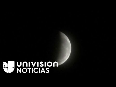 EN VIVO: Así Se Ve El Eclipse Total De Luna