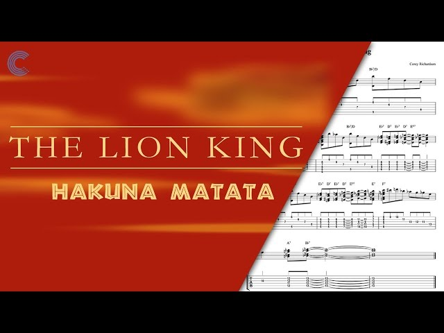 Ukulele Hakuna Matata The Lion King Sheet Mu : Mp3DownloadOnline.com