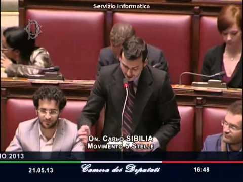 quando il deputato m5s sibilia parlò di signoraggio e distrusse letta!
