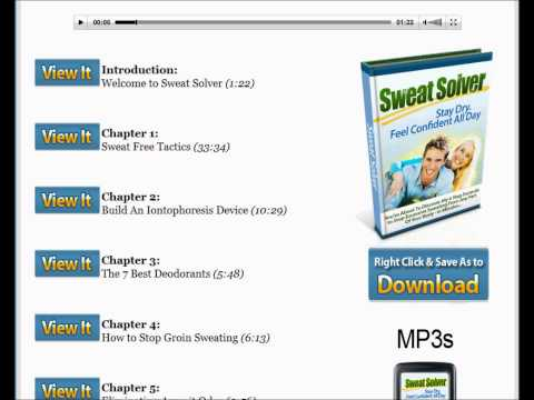 Sweat Solver Review - Stop Excessive Sweating & Become Dry and Confident
