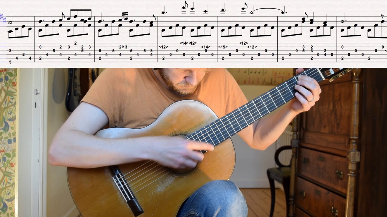 The Witcher 3: Wild Hunt – Kaer Morhen (Acoustic Classical Guitar Fingerstyle Cover with tabs)