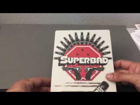 SUPERBAD [BEST BUY] STEELBOOK BLU RAY REVIEW