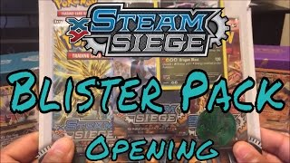 NEW Steam Siege Blister Opening by Demon SnowKing