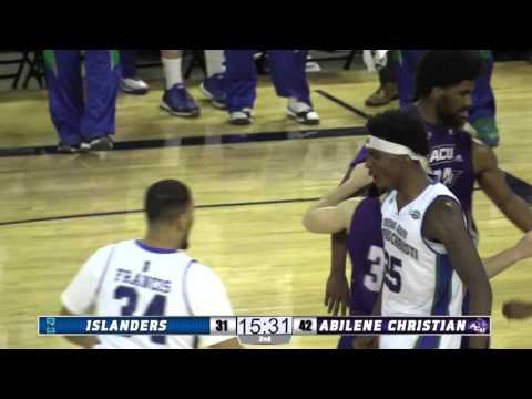 Highlight: Rashawn Thomas #Posterized Defender in Islanders MBB Win