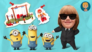 Minions Funny Play Doh Full Movie For Kids Stop Motion Animation